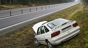 Sinte og gråtende sjåfører mangedobler risikoen for ulykker