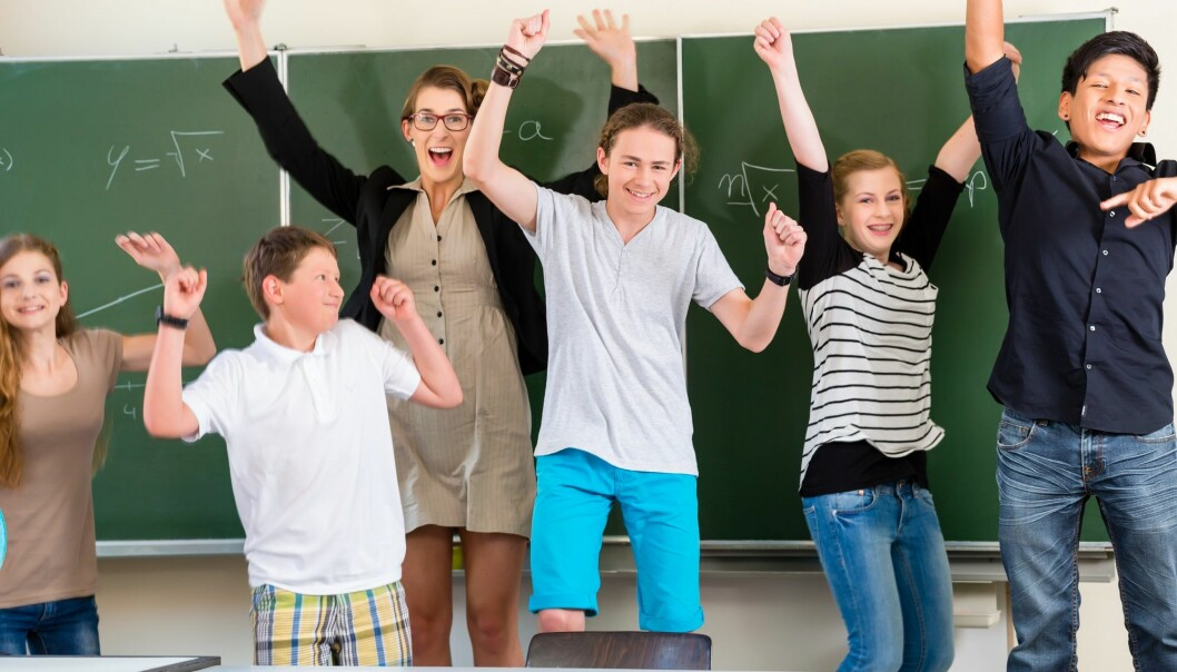 Lærer mer med fysisk aktivitet i mattetimene