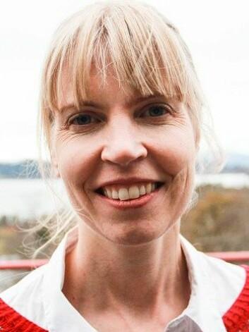 Tone Elise Gjøtterud Henriksen er psykiater ved Valen Sjukehus og stipendiat ved Universitetet i Bergen. (Foto: Cathrine Gaukerud/NRK.)