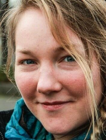 Tuva Maria Martinussen fikk diagnosen bipolar for tre år siden. (Foto: Cathrine Gaukerud/NRK.)
