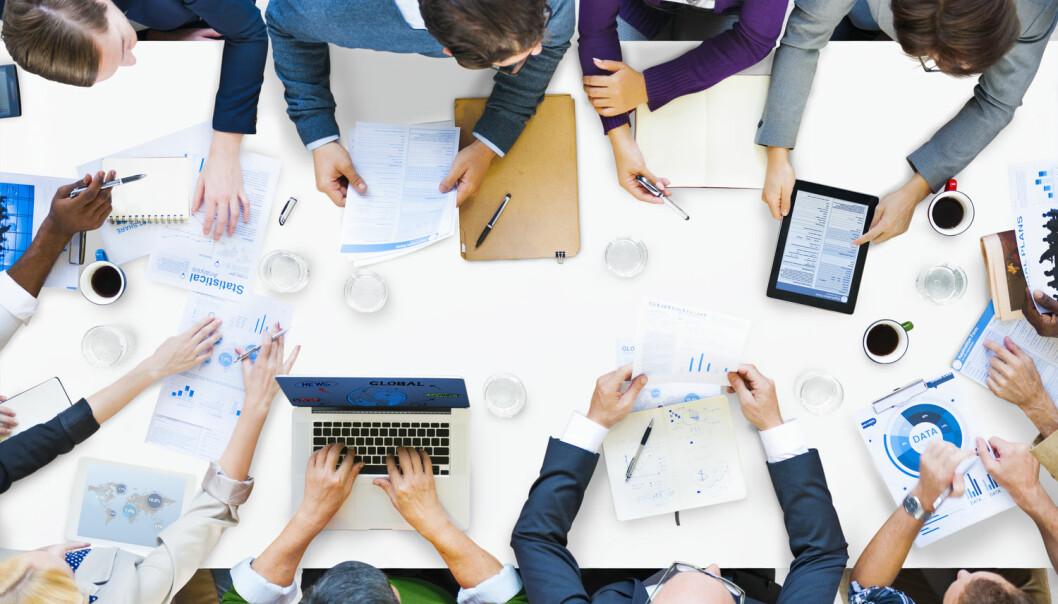 Team som utvikler rutiner for kommunikasjon og hva som skal gjøres, gjør det bedre enn team som ikke etablerer slike rutiner.  (Foto: Rawpixel.com, Shutterstock, NTB scanpix)