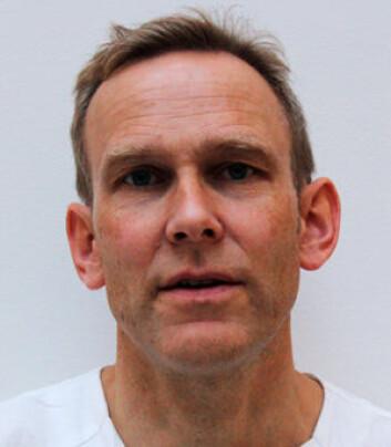 Overlege Anders Palmstrøm Jørgensen (Foto: OUS)