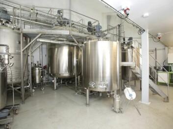 Biorefinery at Anneberg research station. (Photo: Terje Heiestad)