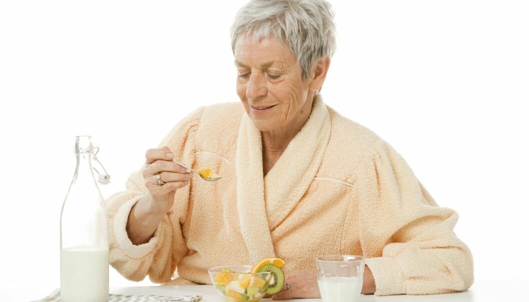 Proteiner til frokost kan forebygge muskelsvinn hos eldre
