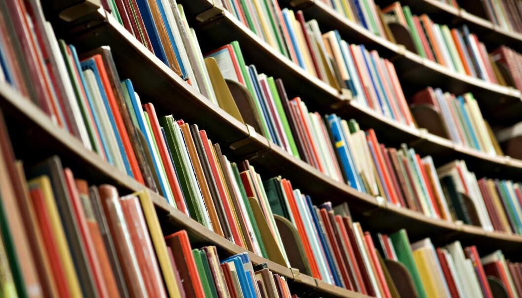 Forskningsartikler er per definisjon smale og fokuserte, iallfall hvis de er gode. Og for at kunnskapen skal nå bachelorstudentene, må den bearbeides. Derfor er det like viktig med fagbokforfattere som artikkelforfattere, skriver høgskolelektor Jan Storø. (Foto: Scanpix)