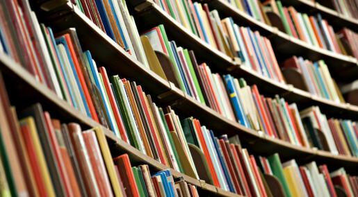 Kronikk: Et universitet trenger bøker