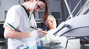 Eldre blir syke av dårlig tannhelse