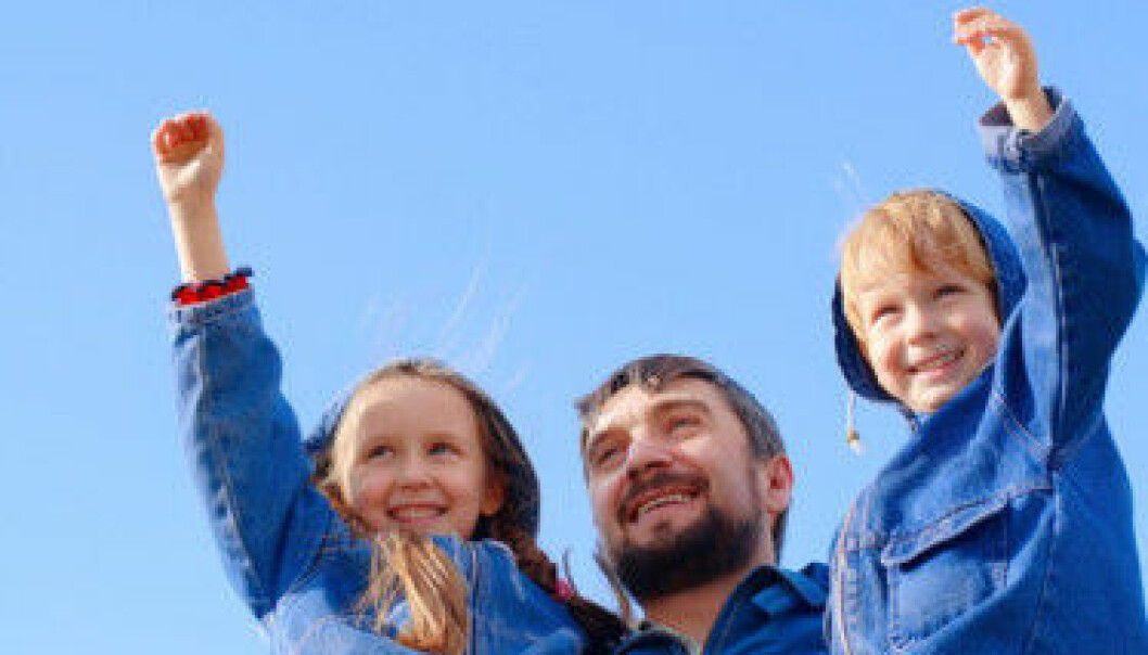 The man as provider is no longer the ideal in Europe, but the idea of the man as a caring father is in the wind, accoring to a new EU report. (Photo: Colourbox)