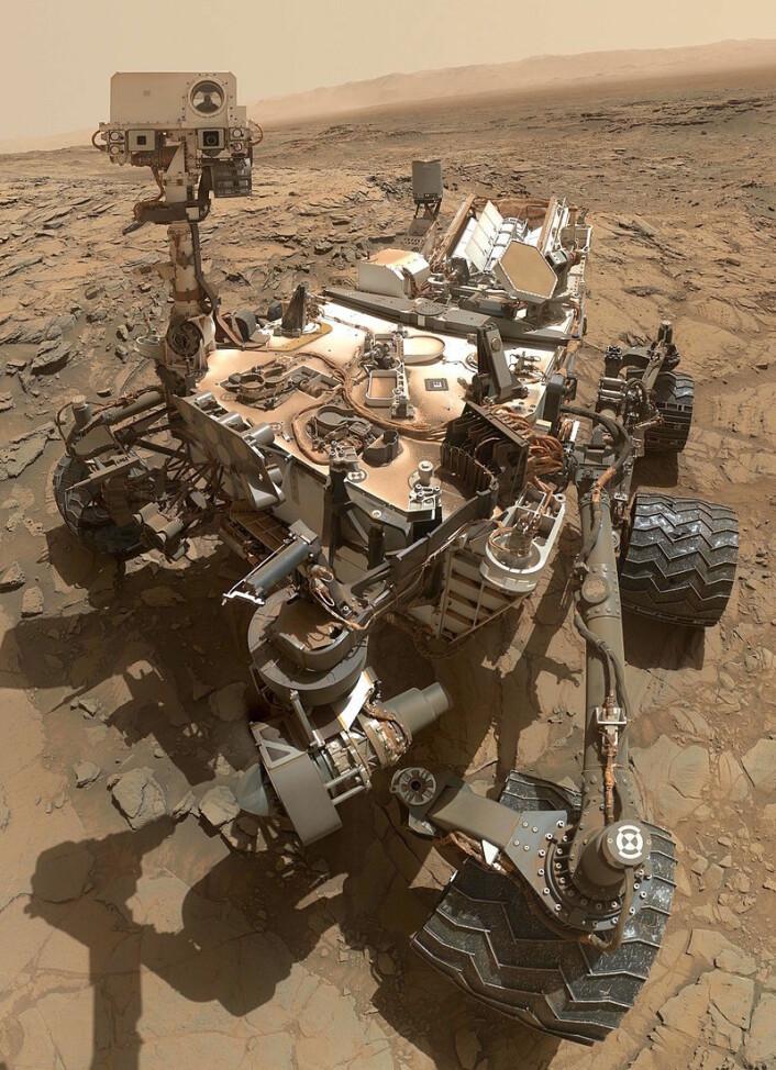 "Curiositys ""hode"". (Foto: NASA)"