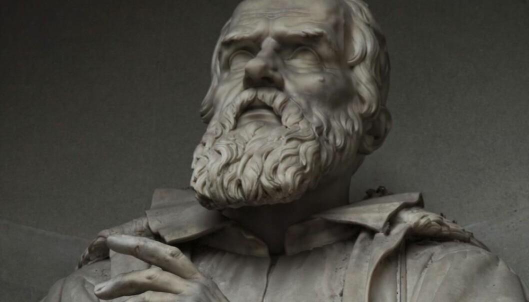 Hva skjedde egentlig mellom Galileo og pavekirken over det heliosentriske system? Det er ingen tvil om at kirken gjorde Galileo urett, men denne saken kan ikke reduseres til en konflikt mellom tro og vitenskap, ifølge kronikkforfatterne. (Foto: Scanpix)