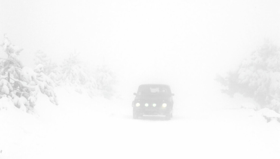 Alle som har kjørt i heftig vintervær vet hvor slitsomt og saktegående det kan være. (Foto: Shutterstock/NTB Scanpix)
