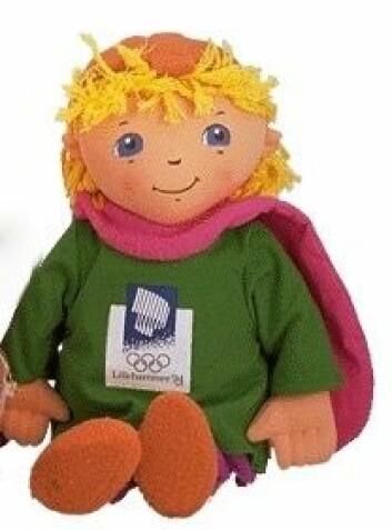 Håkon var maskott under OL på Lillehammer i 1994.