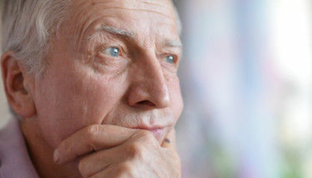 When the side effects of treatment for prostate cancer are manifest, the question also arises: What does it really mean to be a man? (Photo: Colourbox)