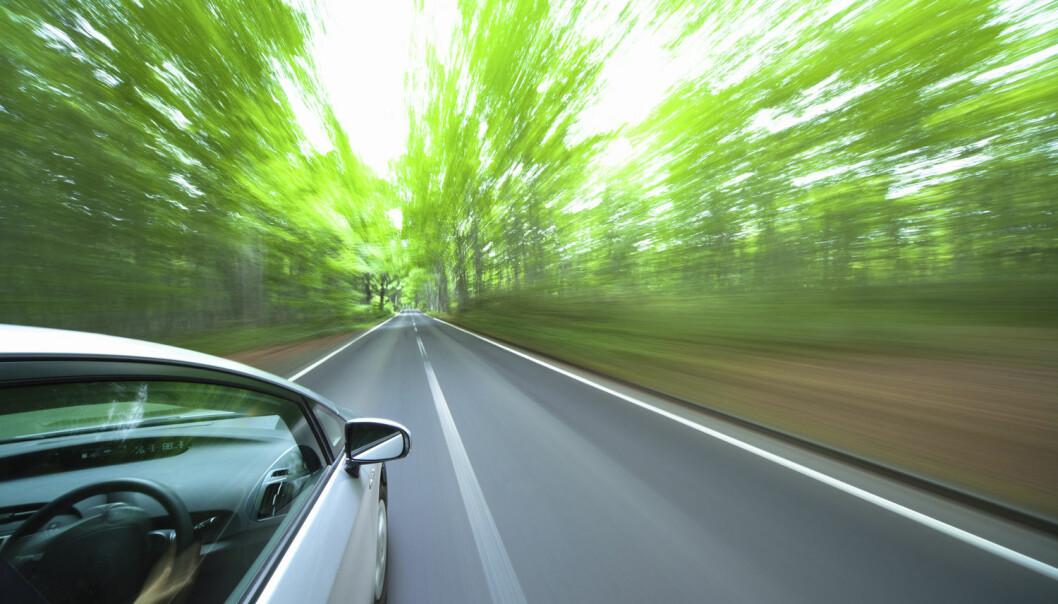 Hvordan er din typiske biltur? Når kunstig intelligens lærer det, kan den planlegge motorbruken i plugg inn-hybridbilen slik at det brukes minst mulig fossilt drivstoff og slippes ut minst mulig karbondioksid. (Illustrasjonsfoto: KPG Payless2 / Shutterstock / NTB scanpix)