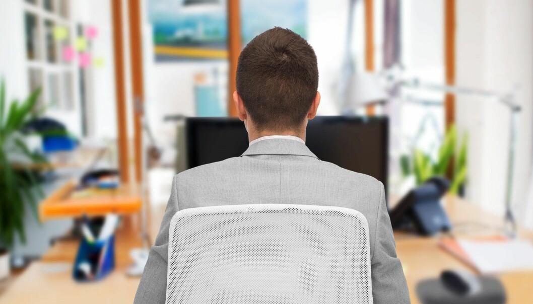 Personer med dårlig psykisk helse opplever sin leder som mindre rettferdig og bemyndigende over tid. (Illustrasjonsfoto: Colourbox)