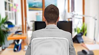 Mer negativt syn på sjefen når du sliter psykisk