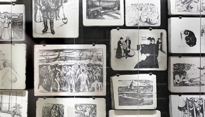 Munch was his own art disseminator