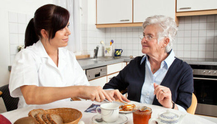Elderly eat too little, and fast too long at night