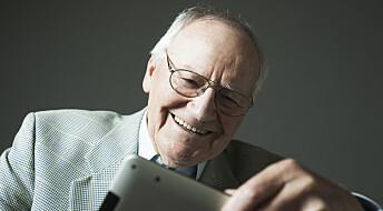 De eldste er mye på internett