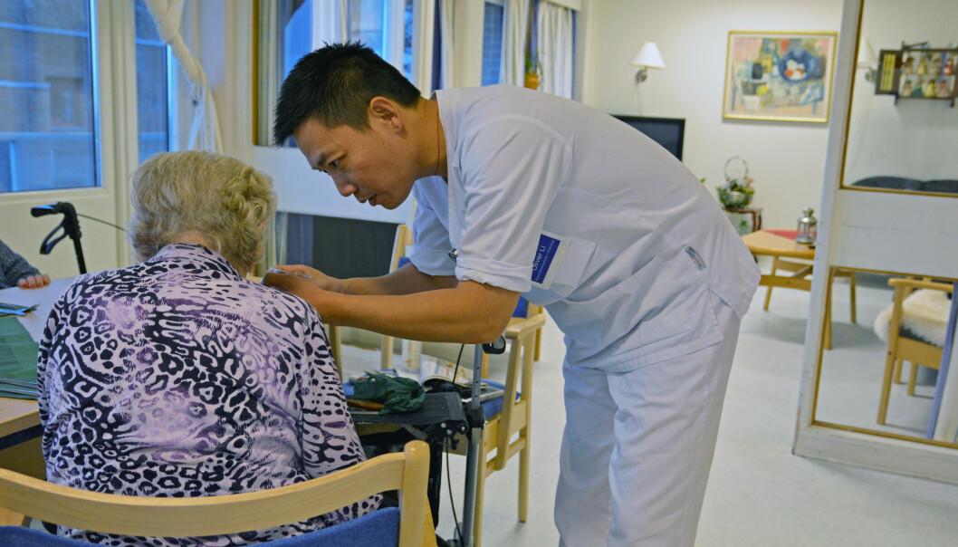 – Syke eldre får ikke den hjelpen de trenger