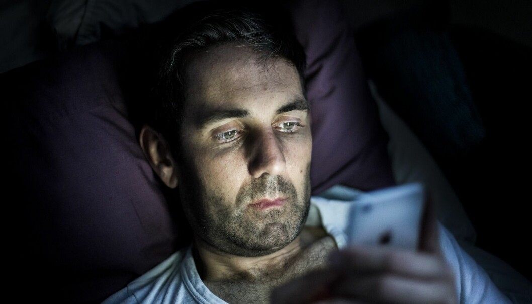 Mange mister det sentrale synsfeltet etterhvert som de blir eldre. Nå kan apper på mobiltelefonen snart gjøre samme nytten som en tur hos øyelegen, ifølge en svensk studie.  (Foto: Science Photo Library, NTB scanpix)