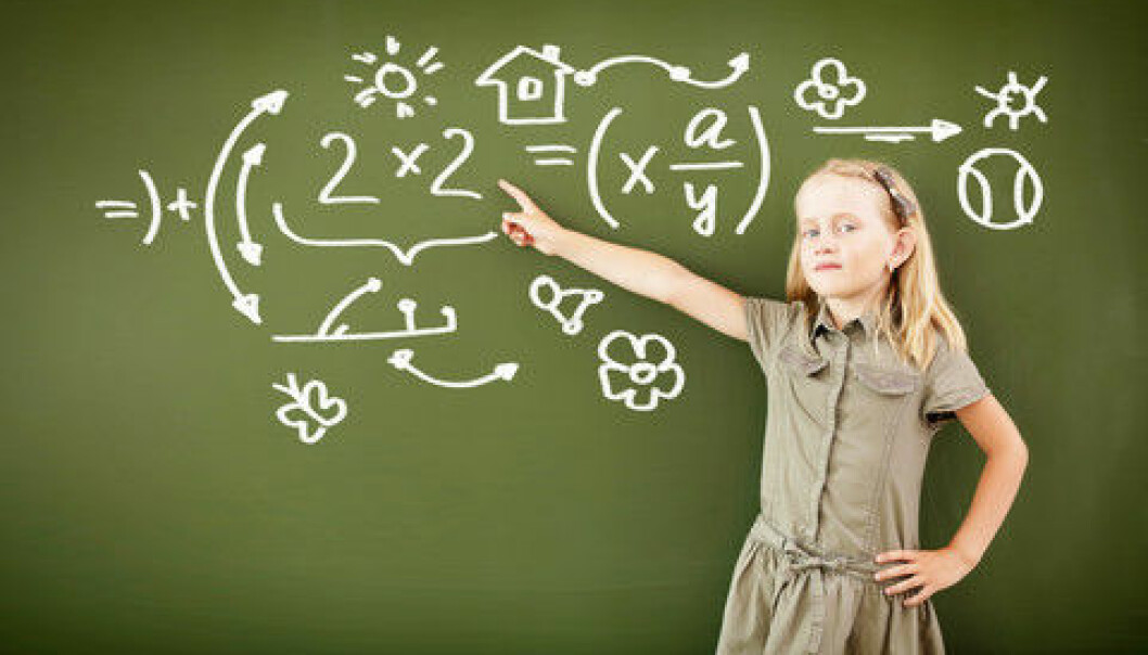 The researchers tested the math skills of 70 Norwegian fifth graders, aged 10.5 years on average. (Photo: Colourbox)