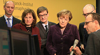 Angela Merkel skrudde på dunder-smultring