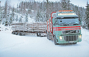 Larger logging trucks give less CO2 emissions