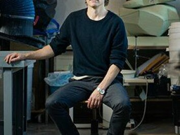 Prof. Tore Gulden, Dept. of product design at HiOA, finds new paths in the search of a more sustainable design. (Photo: Benjamin A. Ward)