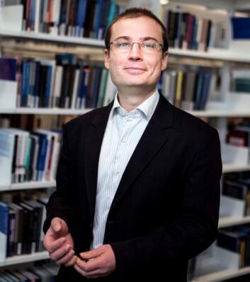 Førsteamanuensis Bogdan Stacescu ved Handelshøyskolen BI. (Foto: Torbjørn Brovold)