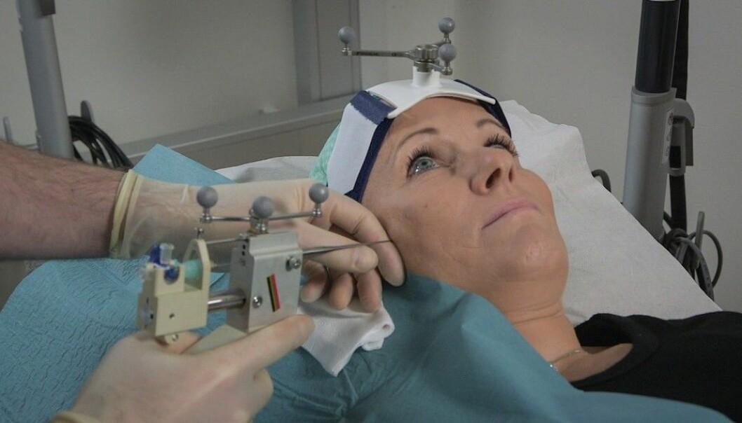 Kan botox være kuren mot migrene?  (Foto: Per Ingvar Rognes/NRK)