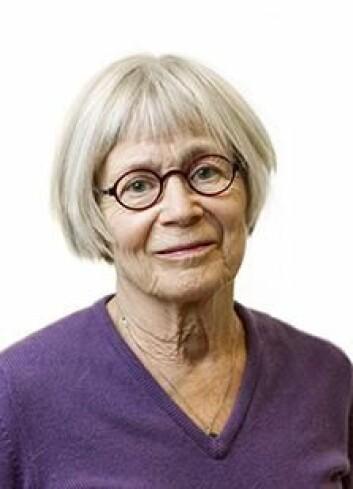 Lena Svenaeus var likestillingsombud på 1990-tallet. I dag forsker hun på diskrimineringslovgivning ved Lunds Universitet.  (Foto: Lunds Universitet)