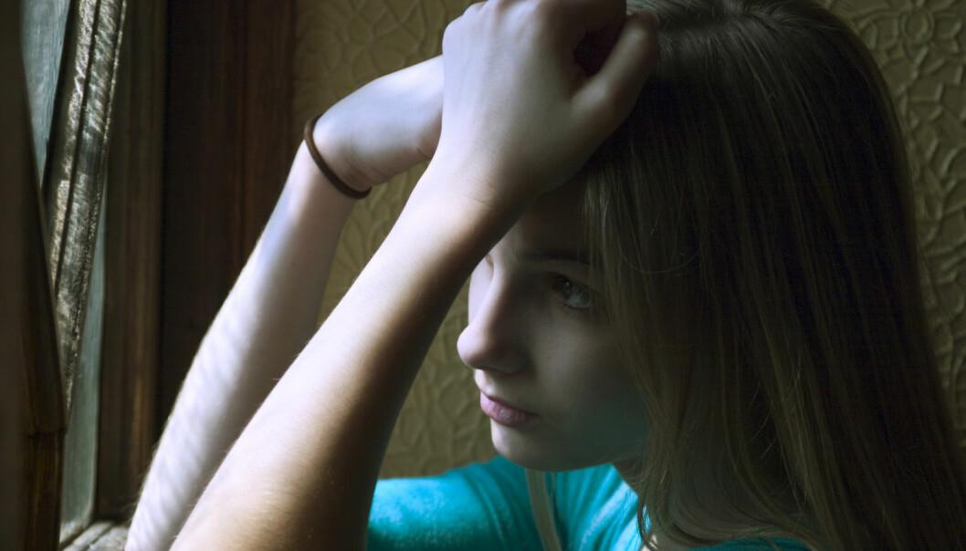 Langt flere norske jenter bruker nå medikamenter mot depresjon enn før. Spesielt har bruken økt i aldersgruppen 14-17 år. (Foto: Palinpicture/NTB Scanpix)