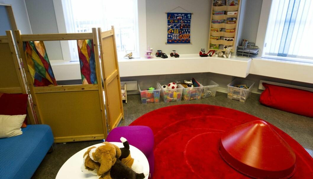 Barn som er blitt utsatt for seksuelle overgrep kan komme til Statens Barnehus Oslo. Men en mindre andel av innvandrerbarna enn andre barn kommer dit. (Foto: Jan Petter Lynau, VG)