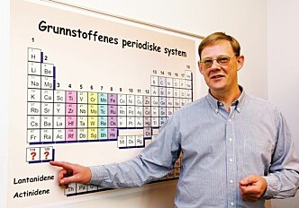 Racing to be the first to create the world's heaviest element
