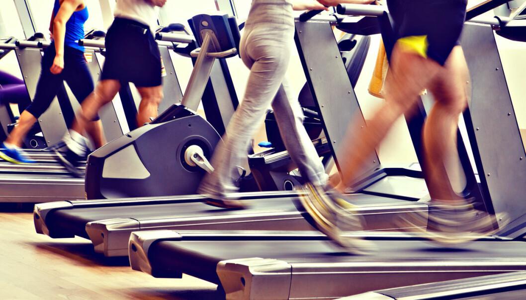 Tredemøllen forteller deg kanskje at du har forbrent 350 kalorier. Men det betyr ikke nødvendigvis at du vil forbrenne flere kalorier totalt i dag.  (Illustrasjonsfoto: Skydive Erick / Shutterstock / NTB scanpix)