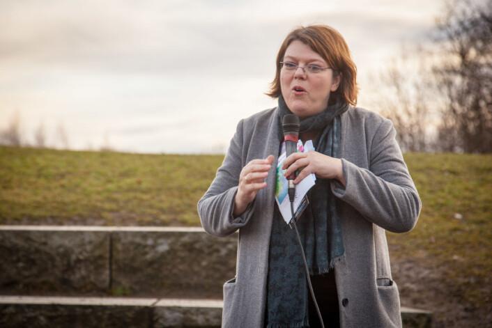 Initiativtager Ruth Aga.  (Foto: Eirik Solheim)
