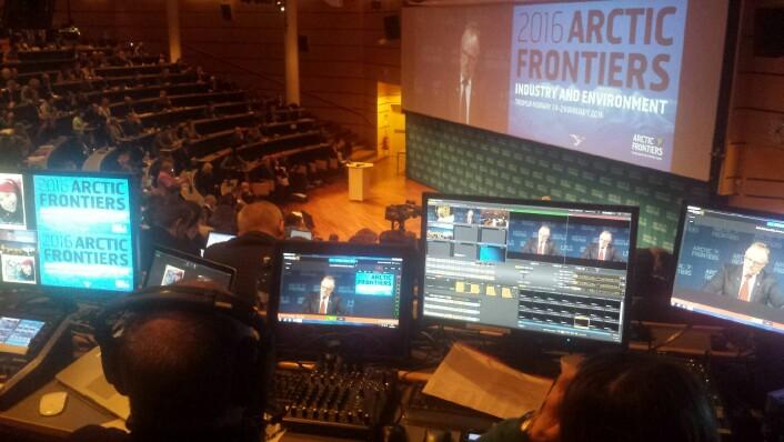 I Tromsø arrangeres nå nordområdekonferansen Arctic Frontiers for tiende gang. (Foto: Helge M. Markusson)