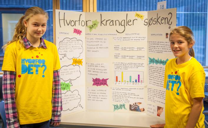 Hvorfor krangler søsken? En aktuell problemstilling for søsken og foreldre i alle aldre.  (Foto: Eirik Solheim)
