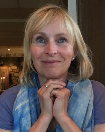 Berit Støre Brinchmann har forsket på unge voksne kvinner med spiseforstyrrelse. – Jeg har fått en utrolig respekt for hva folk står i, sier hun.  (Foto: Privat)
