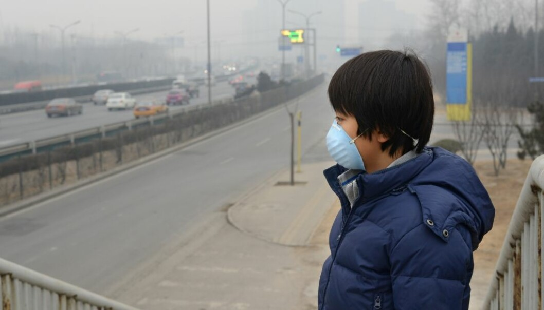Luftforurensningen i Kina er trolig årsaken bak de økte tilfellene av kreft i landet.  (Illustrasjonsfoto: Hung Chung Chih/Shutterstock/NTB scanpix)