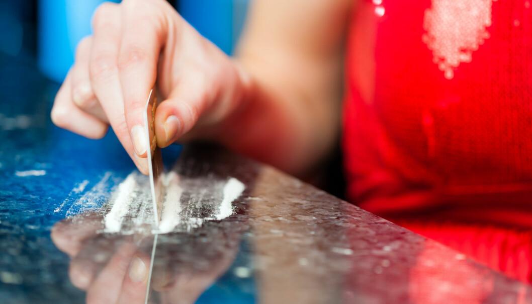 Kokain kan drepe hjerneceller. (Foto: Shutterstock)