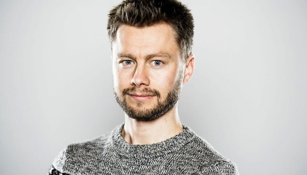 Nikolai K. Winge. (Foto: Gisle Bjørneby)