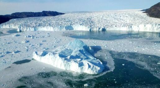 Isdekket kan skjule store lagre av metan