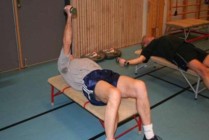 Styrketrening er effektivt også for de som har passert 65 år. (Foto: Hilde Lohne-Seiler)