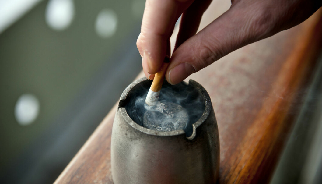 Only a few studies have followed occasional smokers over longer periods.(Photo: Fredrik Varfjell/NTB scanpix)