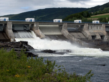 Hunderfossen power station. Almost all the power production in Norway comes from hydropower. (Photo: Paul Kleiven/NTB scanpix)