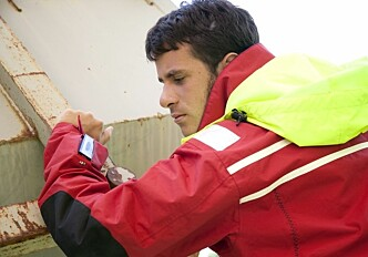 Jacket with built-in mobile phone made to save lives