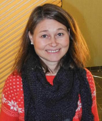Kristin B. Borch ved Det helsevitenskapelige fakultet ved UiT. (Foto: Elisabeth Øvreberg, UiT)