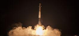 SpaceX gjør nytt forsøk på plattformlanding